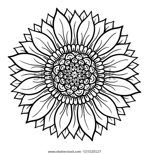 flower mandala coloring page free printable coloring pages ... | 620x600