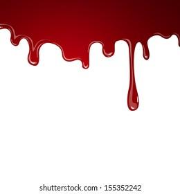 Vector Illustration of Flowing Blood