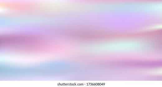 Vector illustration of the fluid vibrant chromatic pastel gradient