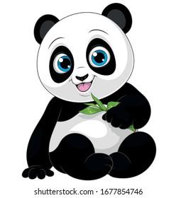 Cute Baby Panda Cartoon Images Stock Photos Vectors Shutterstock