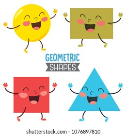 Vector Illustration Of Geometric Shapes