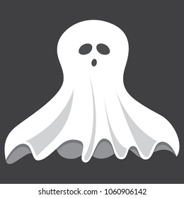 Vector Illustration Of Ghost