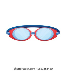 Vector illustration of glasses and eyewear logo. Graphic of glasses and eyewear vector icon for stock.
