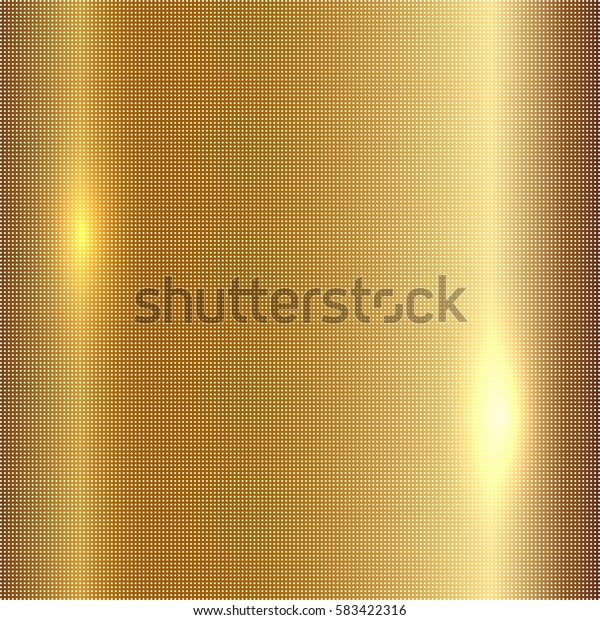 Vector illustration of gold background
