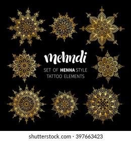 500 Golden Mandala Vector Pictures Royalty Free Images Stock