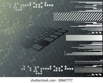vector illustration of graphic background