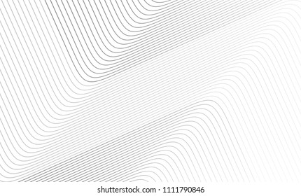 Vector Illustration of the gray pattern of lines abstract background. EPS10.