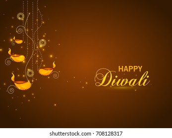 Vector illustration greeting card diwali festival stock vector vector illustration or greeting card for diwali festival with diwali elements m4hsunfo