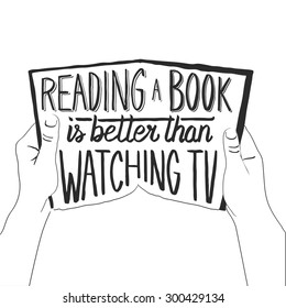 watching tv is better than reading books