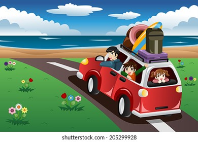 Car On Beach Clipart Images Stock Photos Vectors Shutterstock