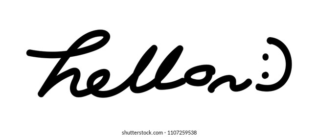 Say Hello Images Stock Photos Vectors Shutterstock