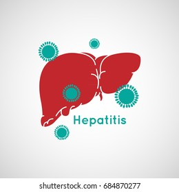Vector illustration of Hepatitis