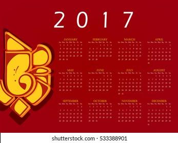 Best Hindu Calendar Images, Stock Photos & Vectors | Shutterstock