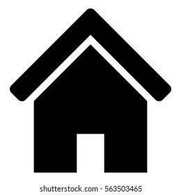 Vector Illustration with Home Icon