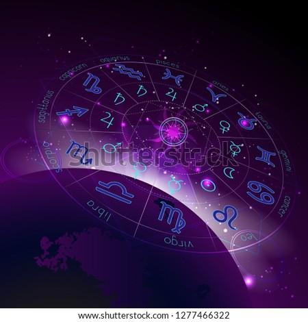 Vector illustration of Horoscope