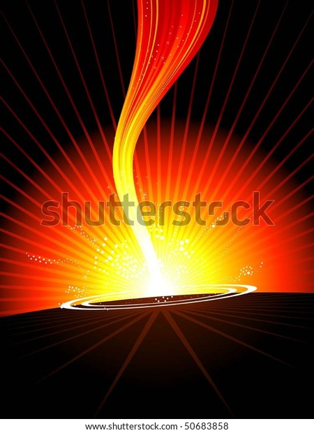 vector illustration hot fire blast stock vector royalty free 50683858 shutterstock