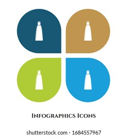 Vector Illustration icon for all purpose. Isolated on 4 different backgrounds.