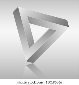 Vector illustration of Impossible Shape