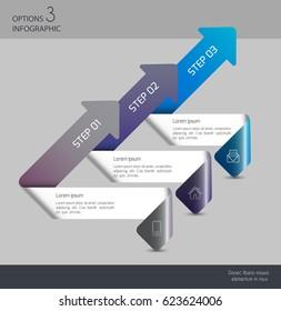 Vector illustration info graphics set. Template for brochure, business, web design.