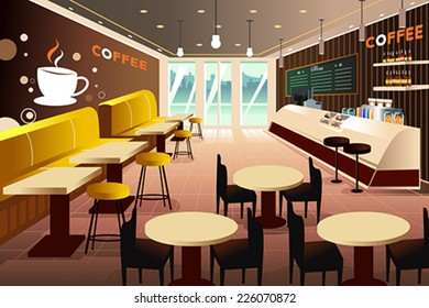 62e2355cf00 Coffee Shop Interior Images, Stock Photos & Vectors | Shutterstock