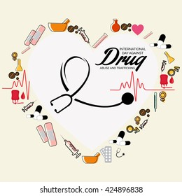 International Day Against Drug Abuse Images, Stock Photos