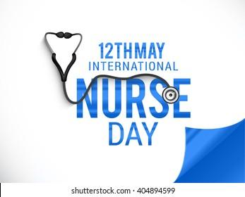 Vector illustration of International nurses day.