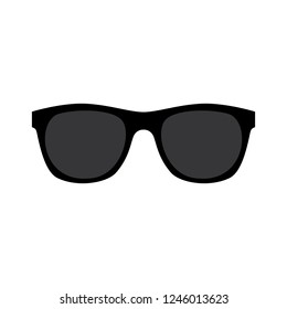 Vector illustration of an isolated pair of sunglasses.