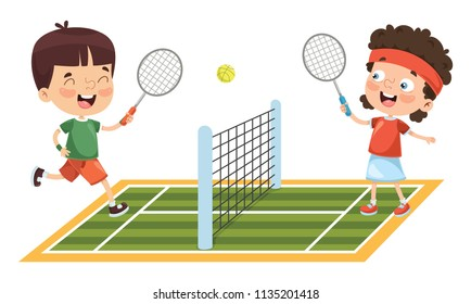 tennis cartoon images  stock photos   vectors shutterstock man clip art cartoon man clip art black and white