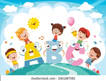 Kid English Learning Images, Stock Photos & Vectors ...