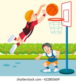 Basketball Para Ninos Stock Vectors Images Vector Art Shutterstock