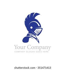 Vector Illustration : Knight Logo Template