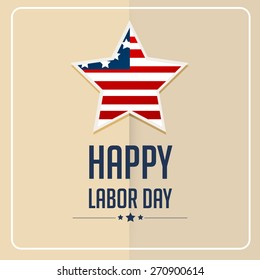 Vector illustration for labor day.