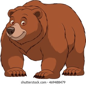 brown bear cartoon images stock photos vectors shutterstock