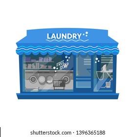 Laundry Shop Design Images Stock Photos Vectors Shutterstock
