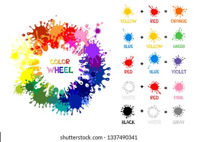 Color Name Images, Stock Photos & Vectors | Shutterstock