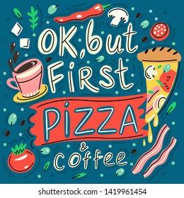 Pizza Slogan Images, Stock Photos & Vectors | Shutterstock