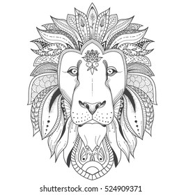 Animal Mandala Coloring Pages Hd Stock Images Shutterstock