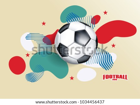 vector illustration logo soccer cup on のベクター画像素材