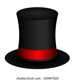 Vector illustration of magic hat