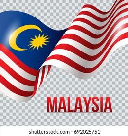 Vector illustration of Malaysia flag