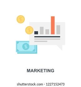 Vector illustration of marketing flat design concept.