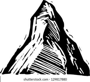 Vector illustration of Matterhorn