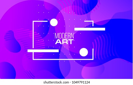vector illustration. minimalistic design hipster frames, violet color. Vector gradient. frame for text modern design. stylish gradients graphic in fluid style. business cards, invitations, gift cards,