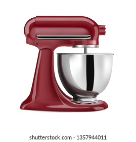 Vector illustration of mixer for baking
