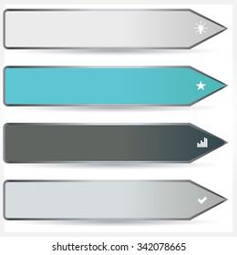 Vector illustration of modern design template