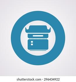 vector illustration of modern icon frame photo camera