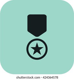 vector illustration modern memorial day of token icon