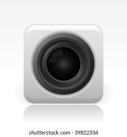 Vector illustration of modern single icon.