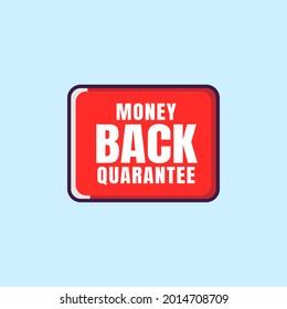 Vector illustration money back quarantee