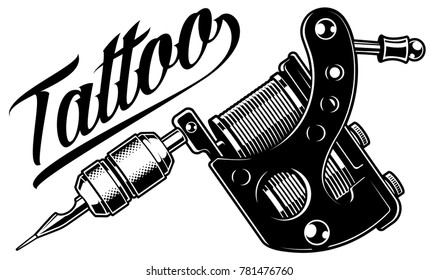 Tattoo Machine Images, Stock Photos & Vectors | Shutterstock